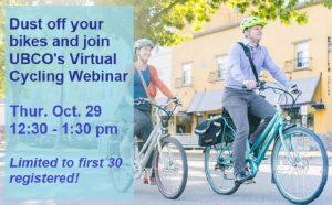 UBCO Virtual Cycling Webinar